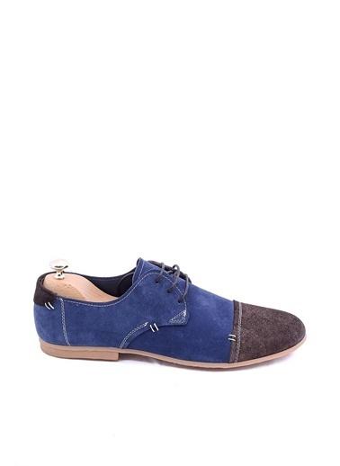 Wessi Erkek Süet Uç Kısmı Klasik Ayakkabı Lacivert